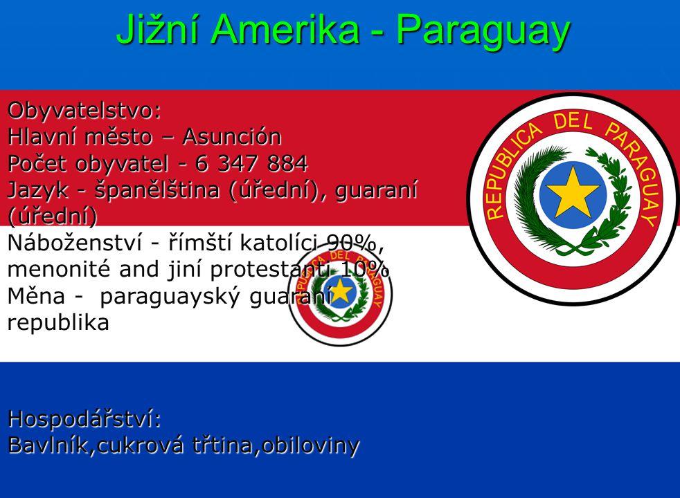Jižní Amerika - Paraguay