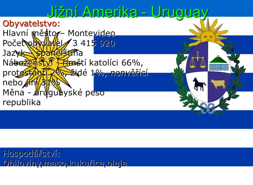 Jižní Amerika - Uruguay