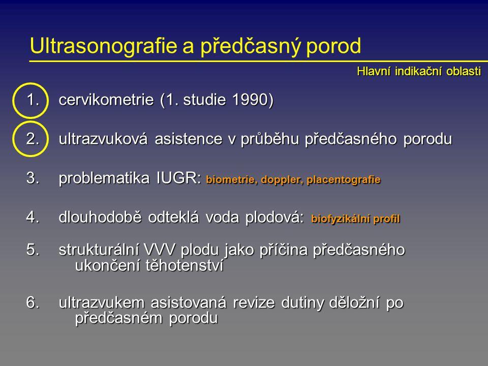 Ultrasonografie a předčasný porod