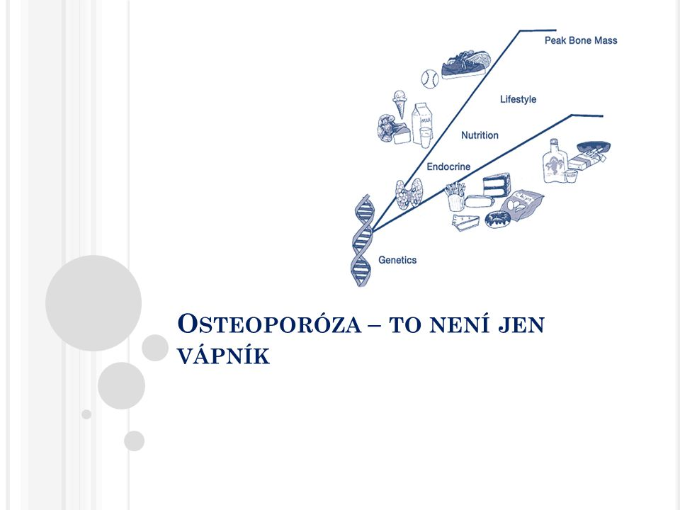 Osteoporóza – to není jen vápník