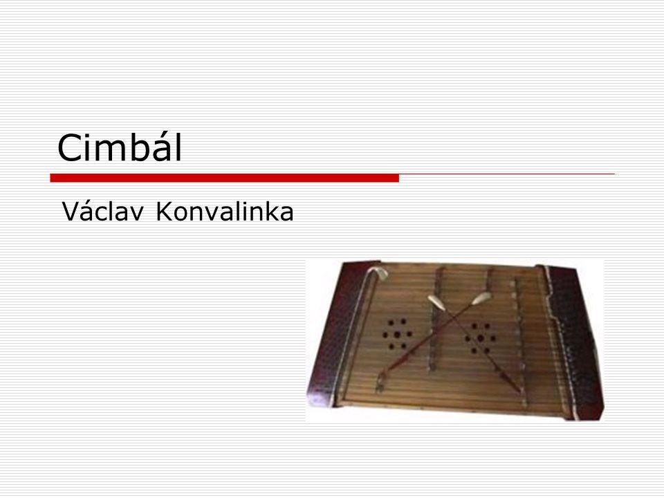 Cimbál Václav Konvalinka
