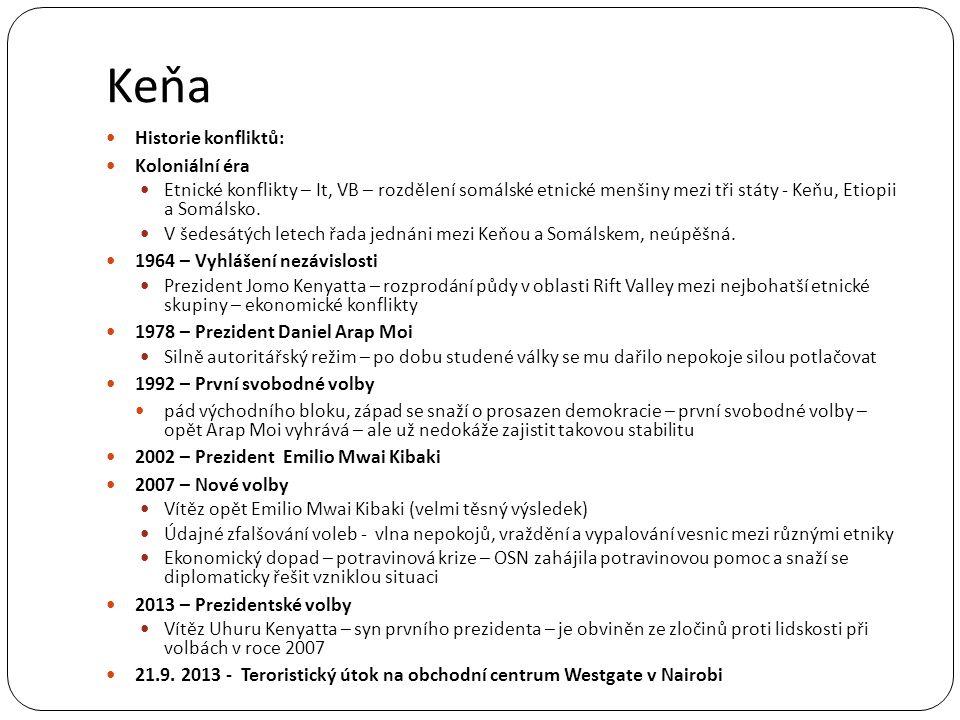 Keňa Historie konfliktů: Koloniální éra