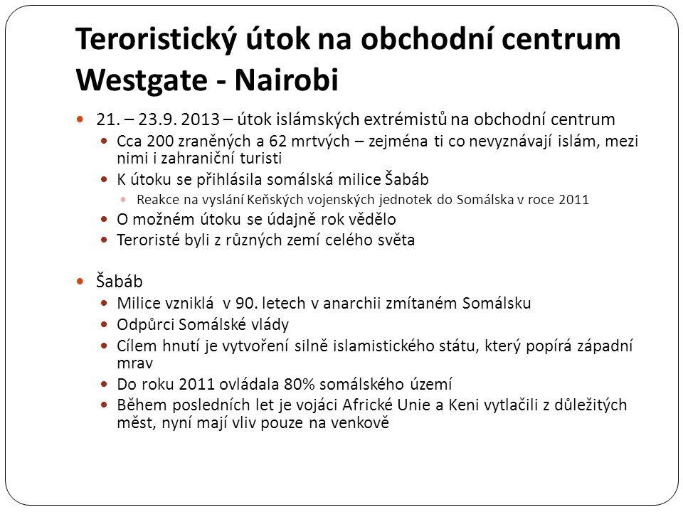 Teroristický útok na obchodní centrum Westgate - Nairobi