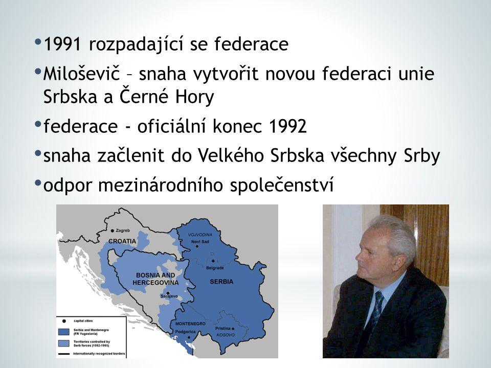 1991 rozpadající se federace