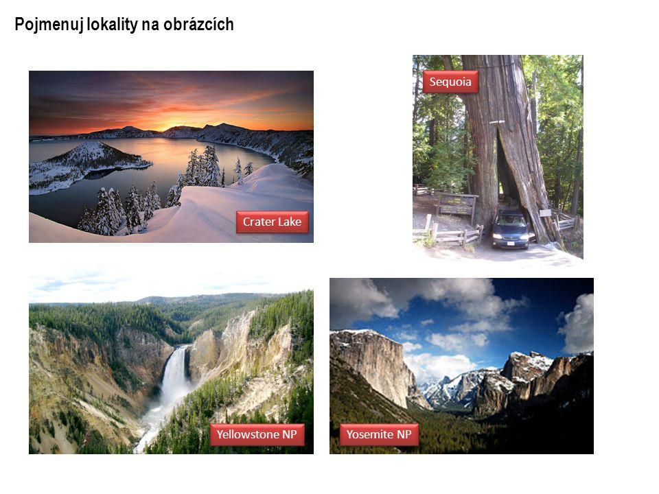 Pojmenuj lokality na obrázcích