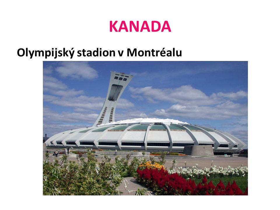 KANADA Olympijský stadion v Montréalu