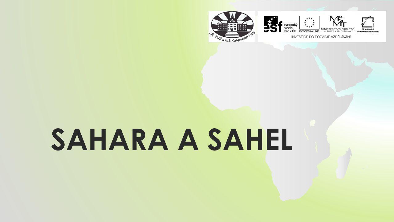 SAHARA a SAHEL