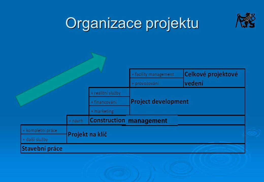 Organizace projektu management