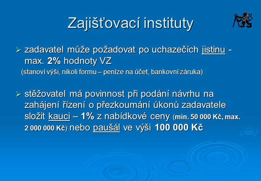 Zajišťovací instituty