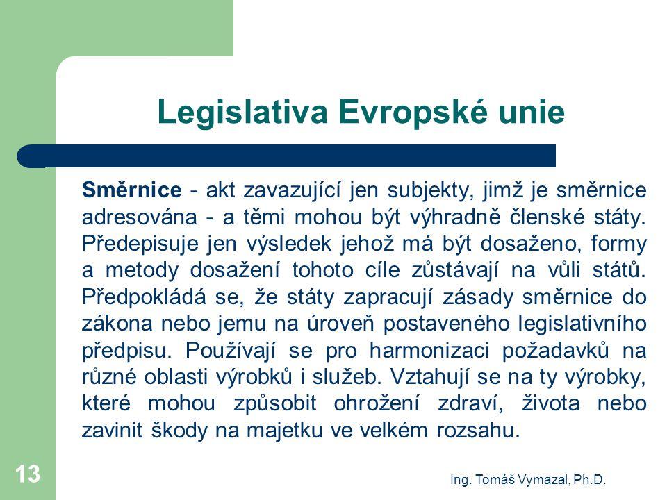 Legislativa Evropské unie