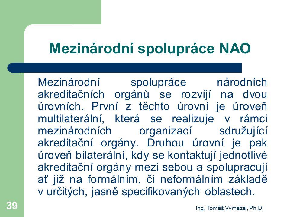 Mezinárodní spolupráce NAO