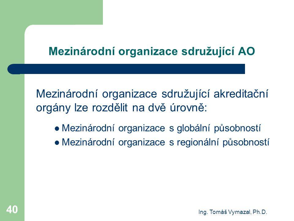 Mezinárodní organizace sdružující AO
