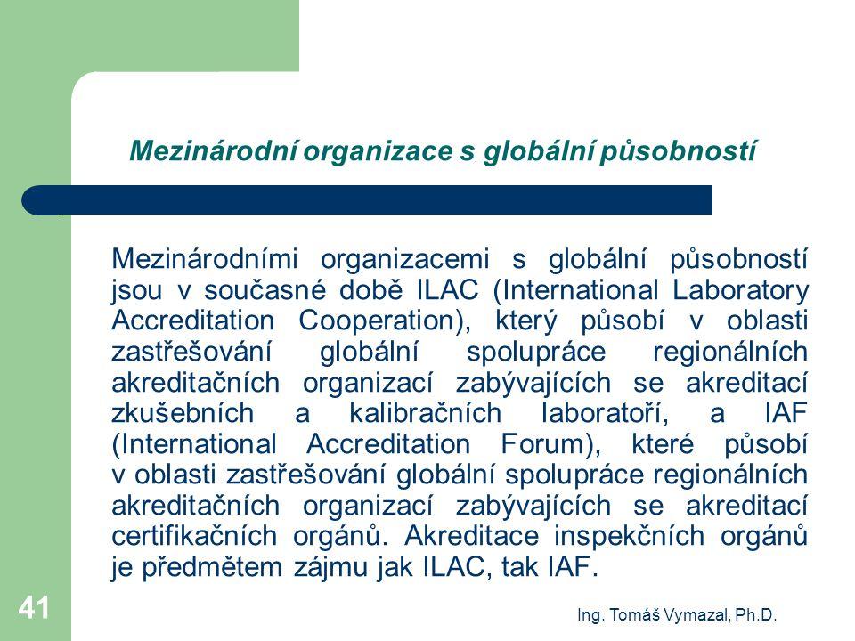 Mezinárodní organizace s globální působností