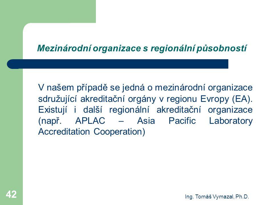 Mezinárodní organizace s regionální působností