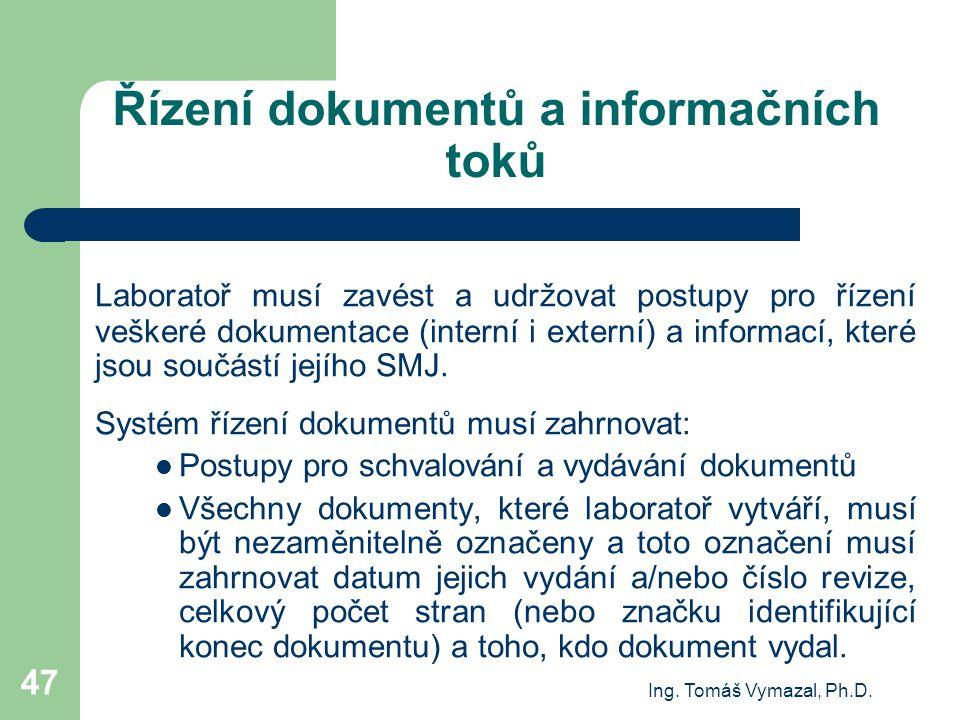Řízení dokumentů a informačních toků