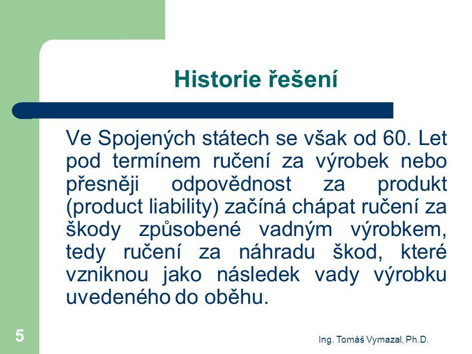 Historie řešení