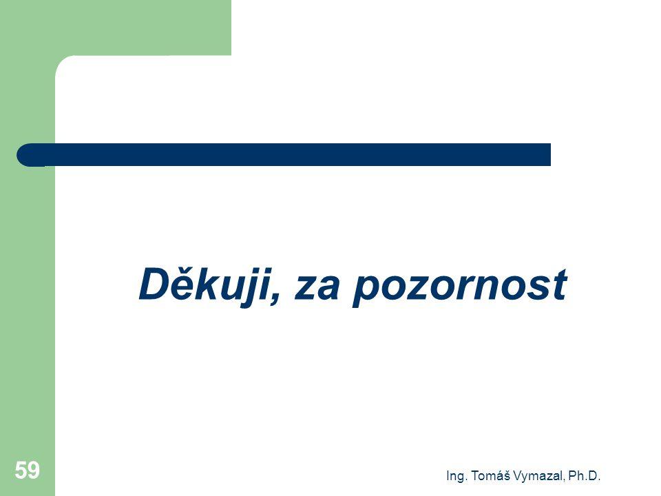 Děkuji, za pozornost Ing. Tomáš Vymazal, Ph.D.