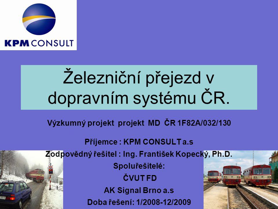 Železniční přejezd v dopravním systému ČR.