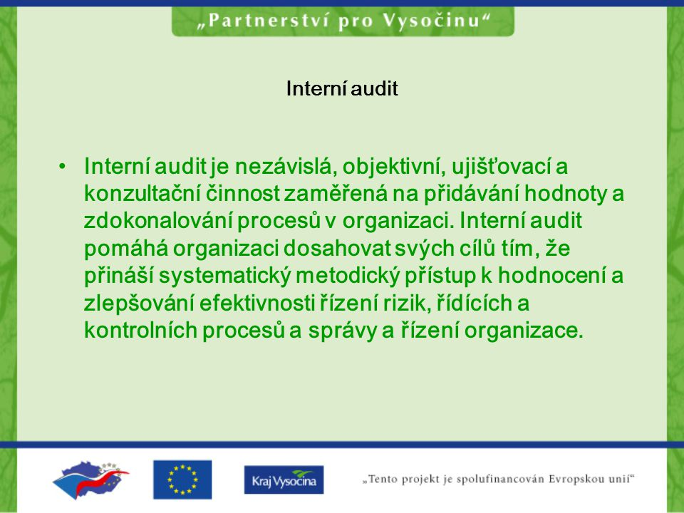 Interní audit