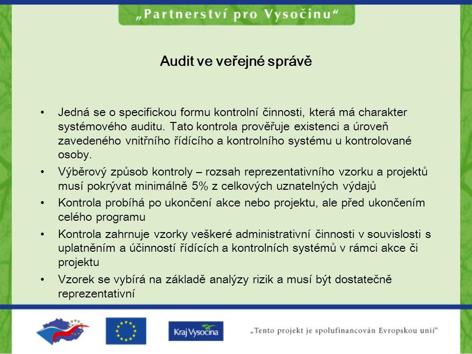 Audit ve veřejné správě
