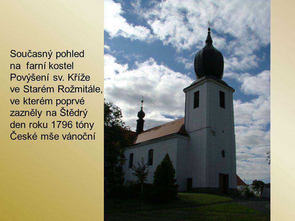 Současný pohled na farní kostel