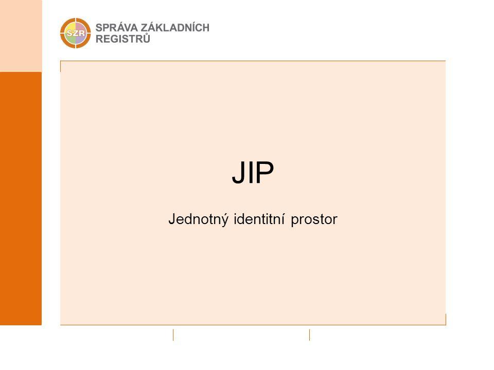 JIP Jednotný identitní prostor