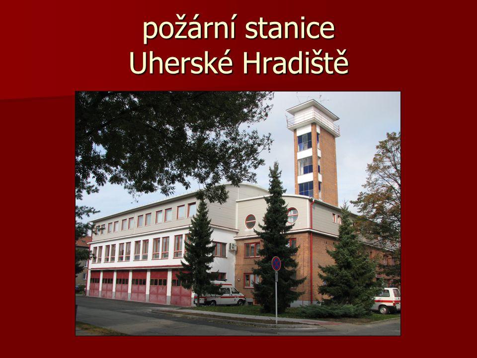 požární stanice Uherské Hradiště