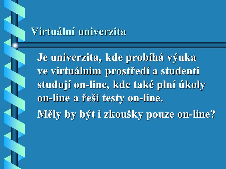 Virtuální univerzita