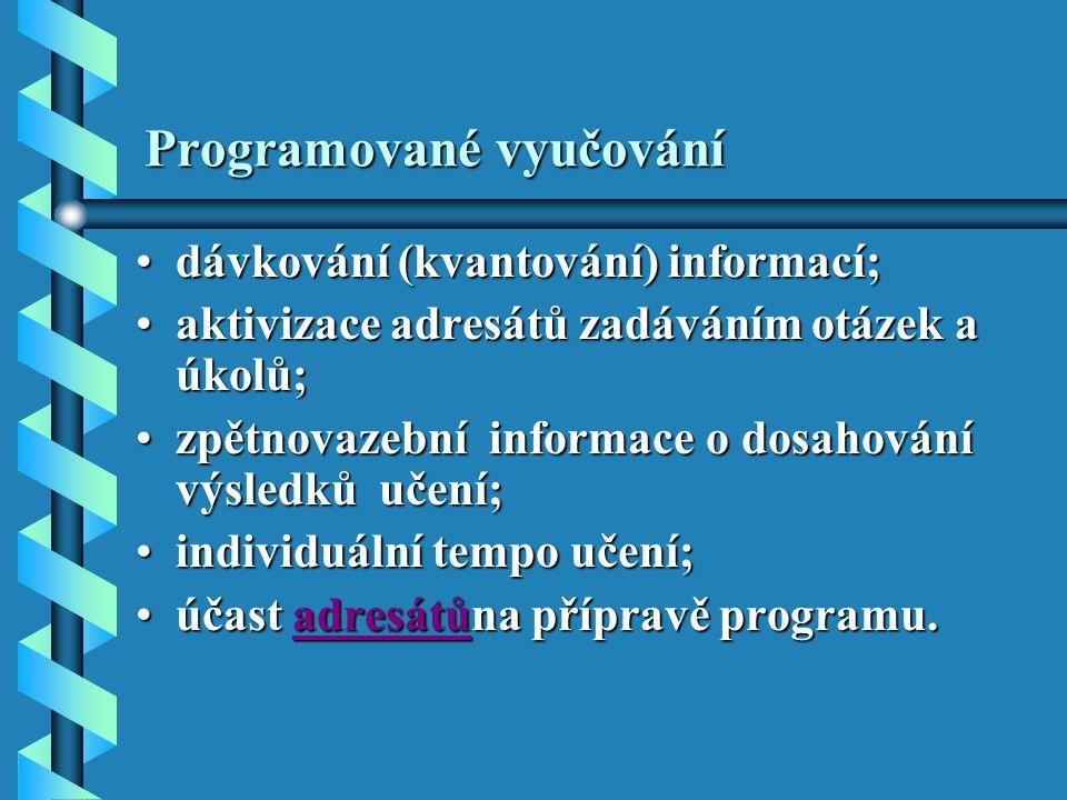 Programované vyučování