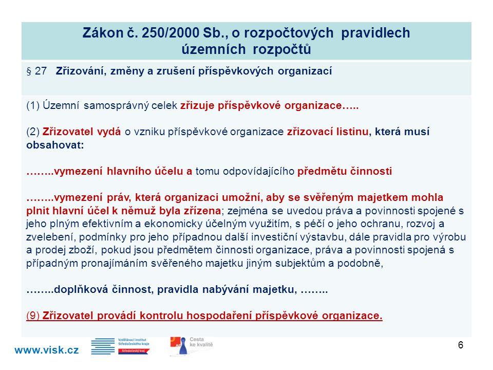 Zákon č. 250/2000 Sb., o rozpočtových pravidlech