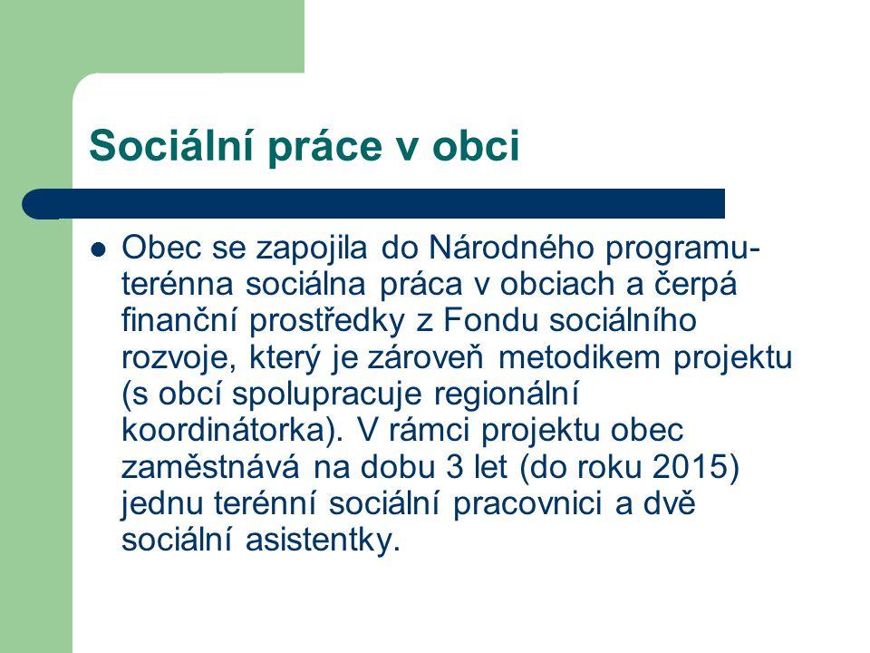 Sociální práce v obci