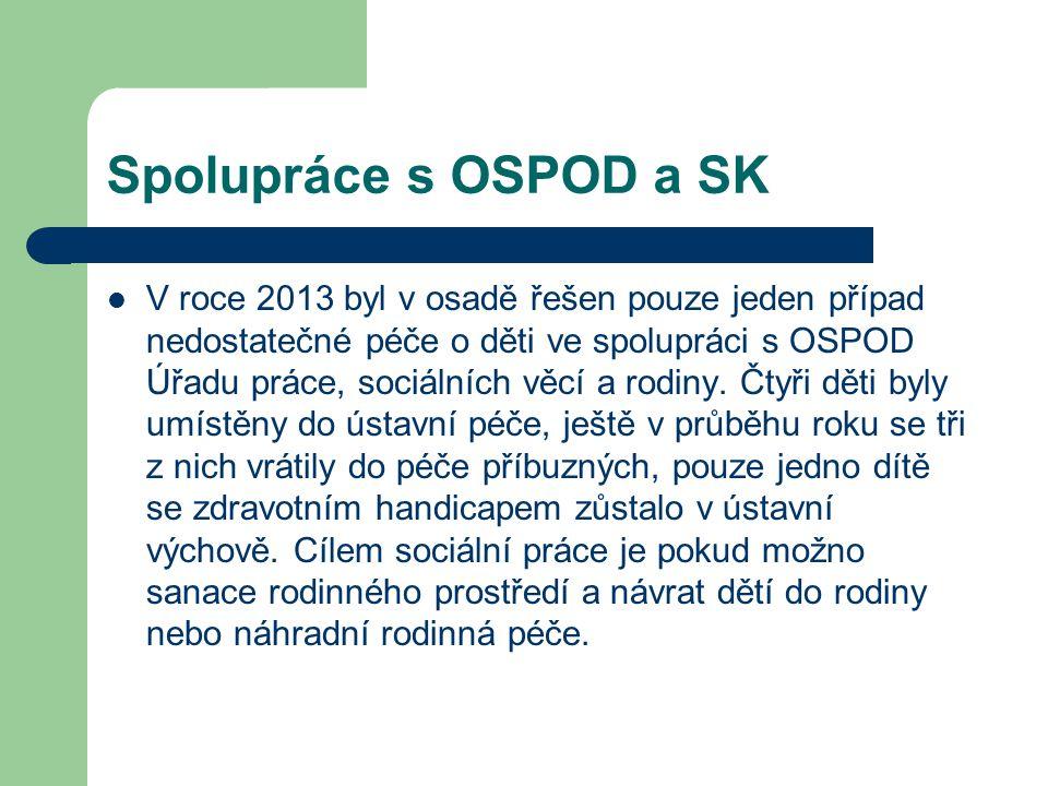 Spolupráce s OSPOD a SK