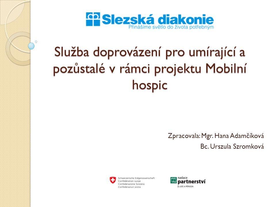 Zpracovala: Mgr. Hana Adamčíková Bc. Urszula Szromková