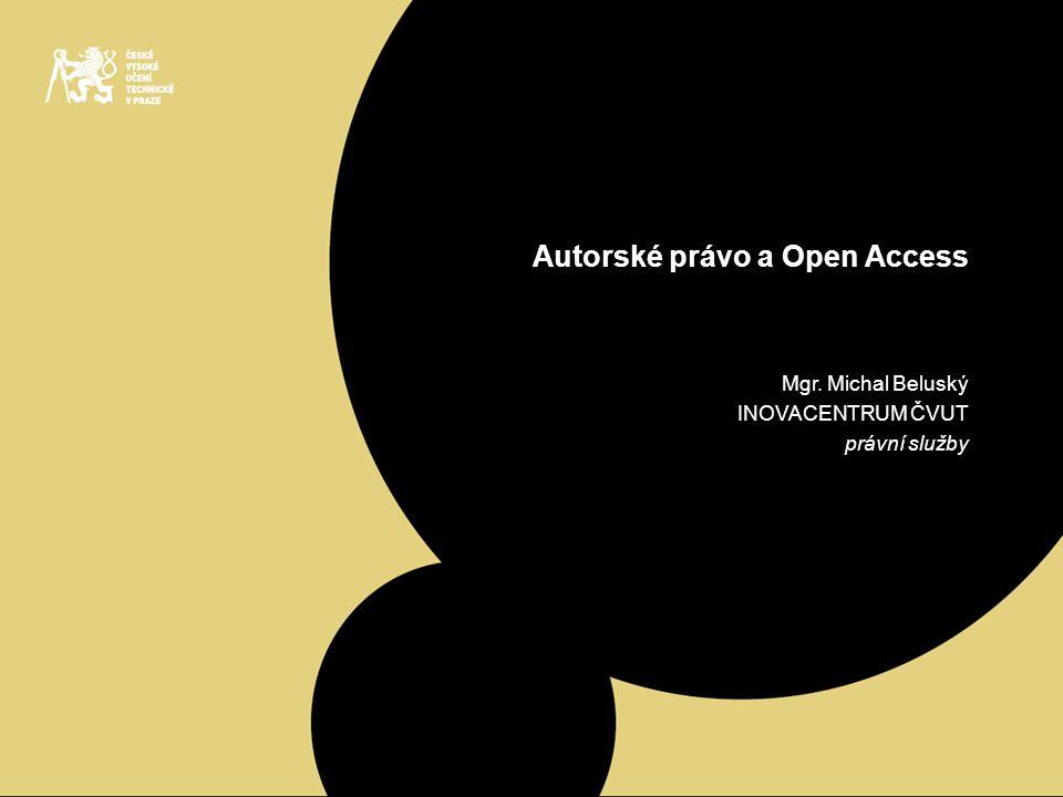 Autorské právo a Open Access