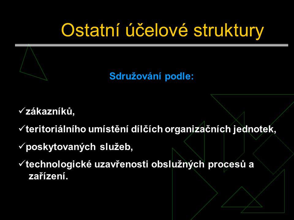 Ostatní účelové struktury