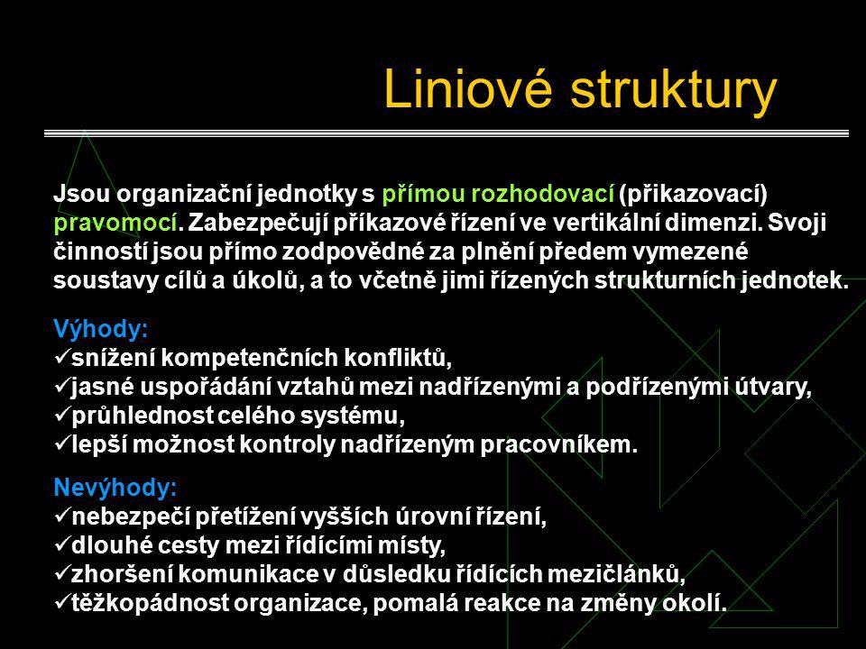 Liniové struktury