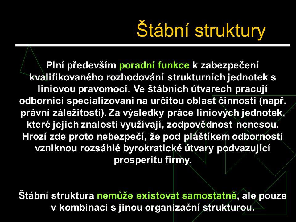 Štábní struktury