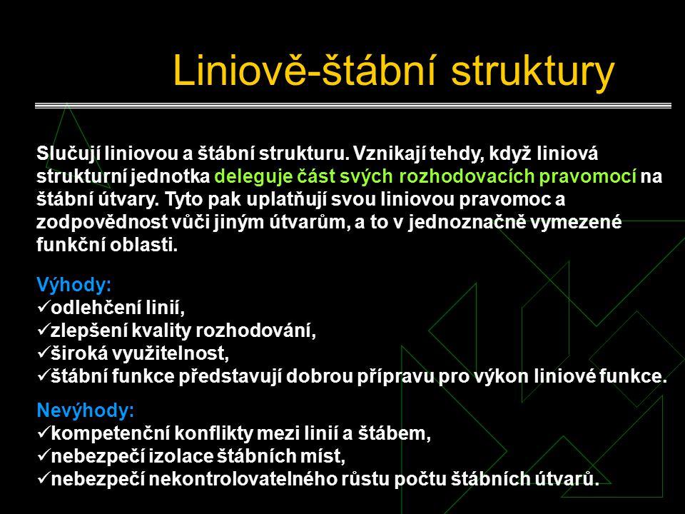 Liniově-štábní struktury