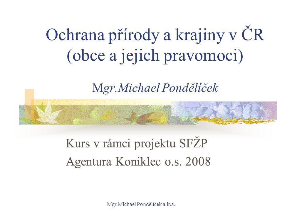 Kurs v rámci projektu SFŽP Agentura Koniklec o.s. 2008