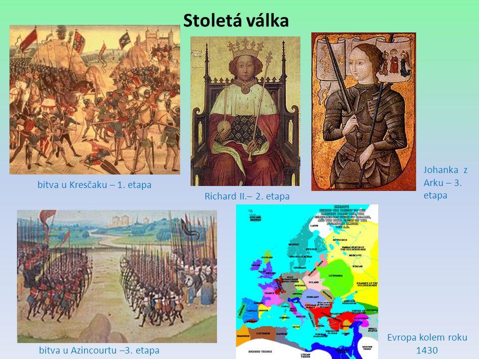 Stoletá válka Johanka z Arku – 3. etapa bitva u Kresčaku – 1. etapa