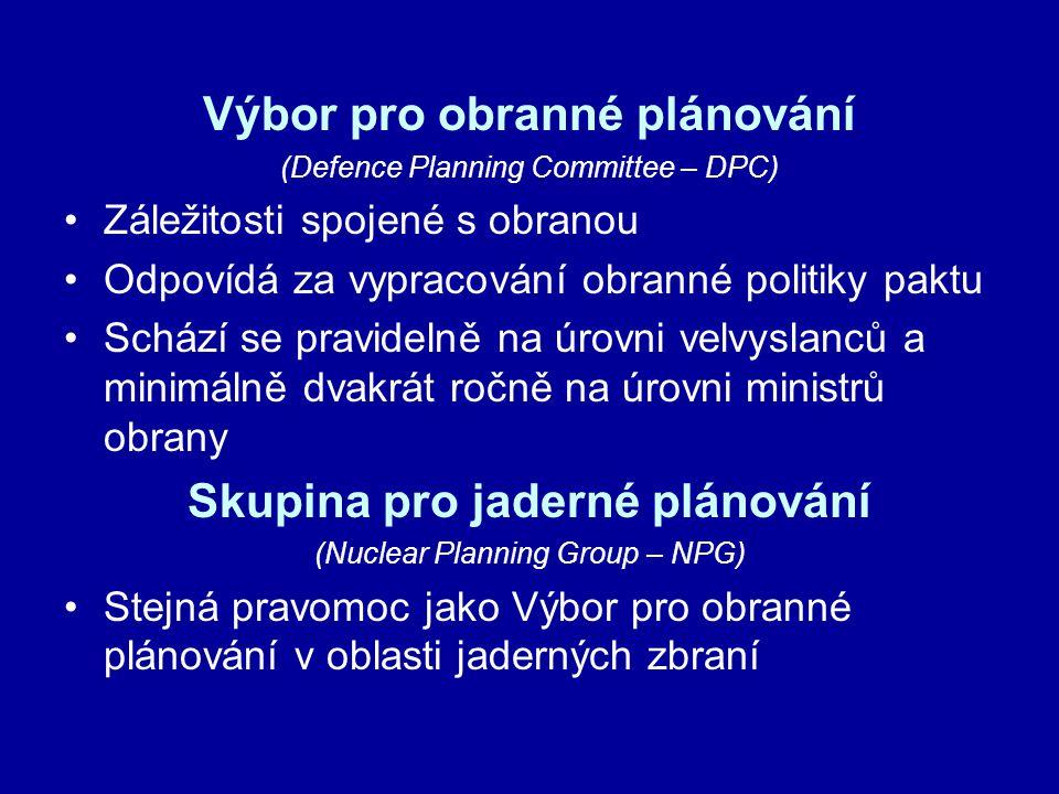 Výbor pro obranné plánování Skupina pro jaderné plánování