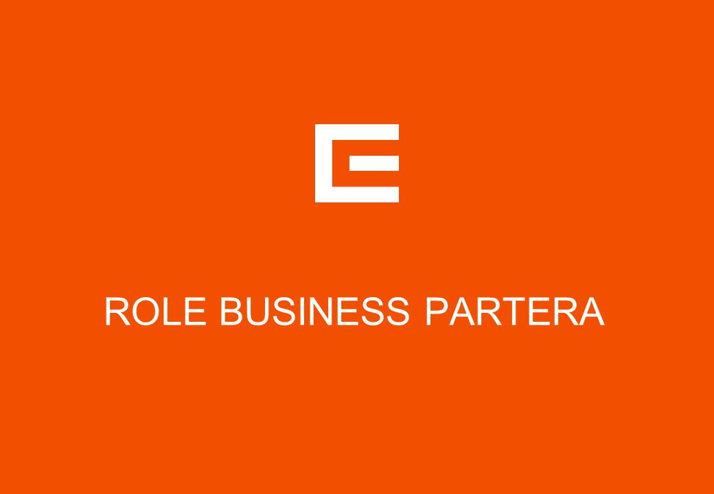 DEFINICE ROLE BUSINESS PARTNERA