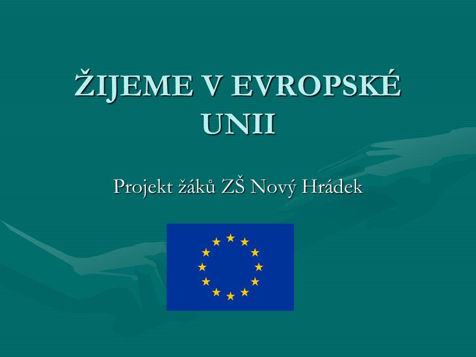 Projekt žáků ZŠ Nový Hrádek