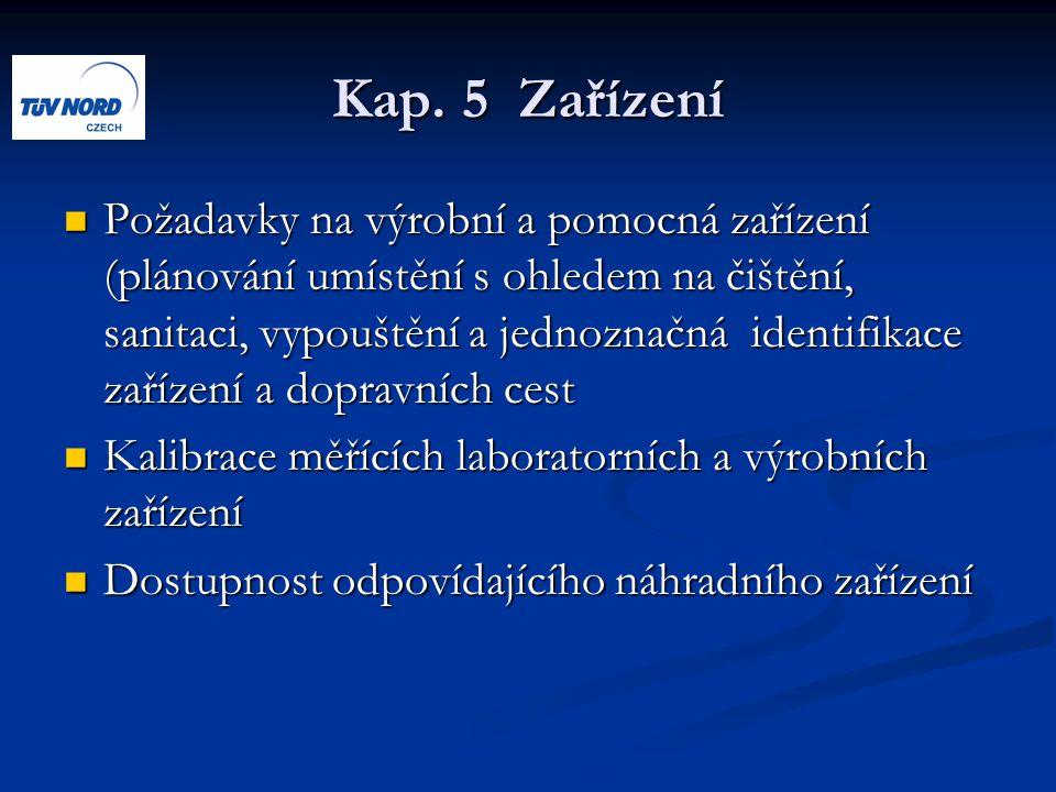 Kap. 5 Zařízení