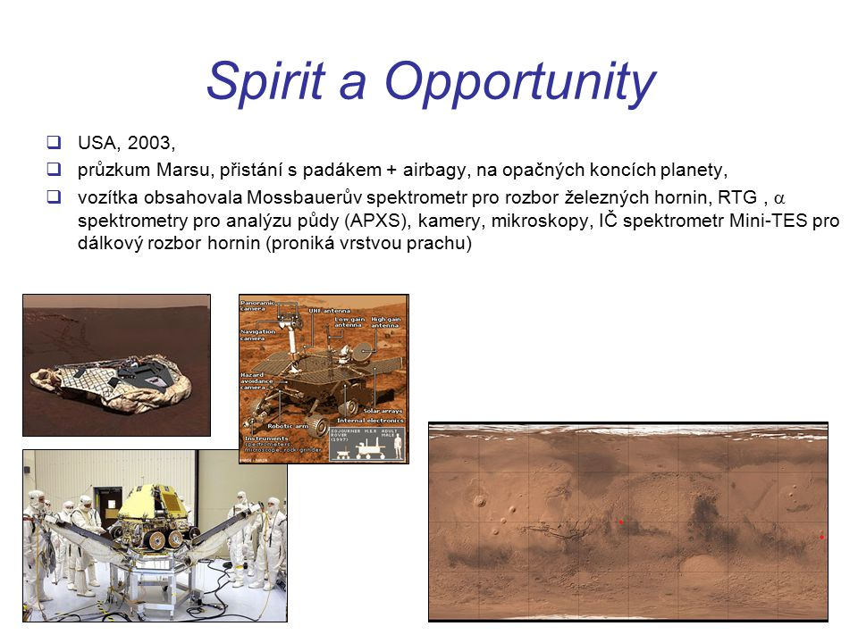 Spirit a Opportunity USA, 2003,