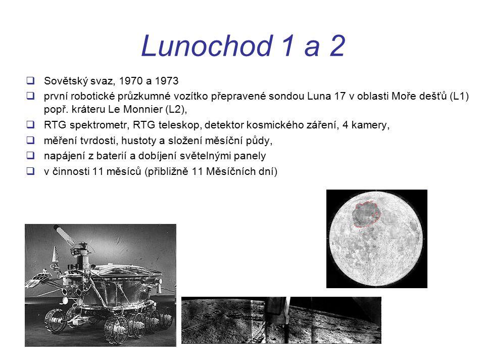Lunochod 1 a 2 Sovětský svaz, 1970 a 1973