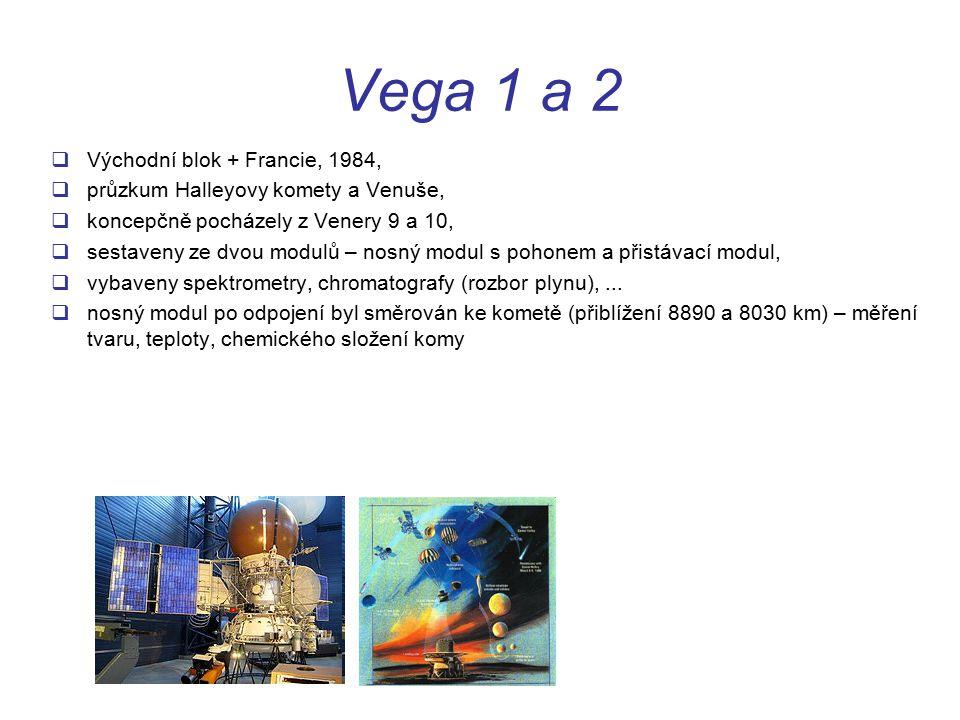 Vega 1 a 2 Východní blok + Francie, 1984,