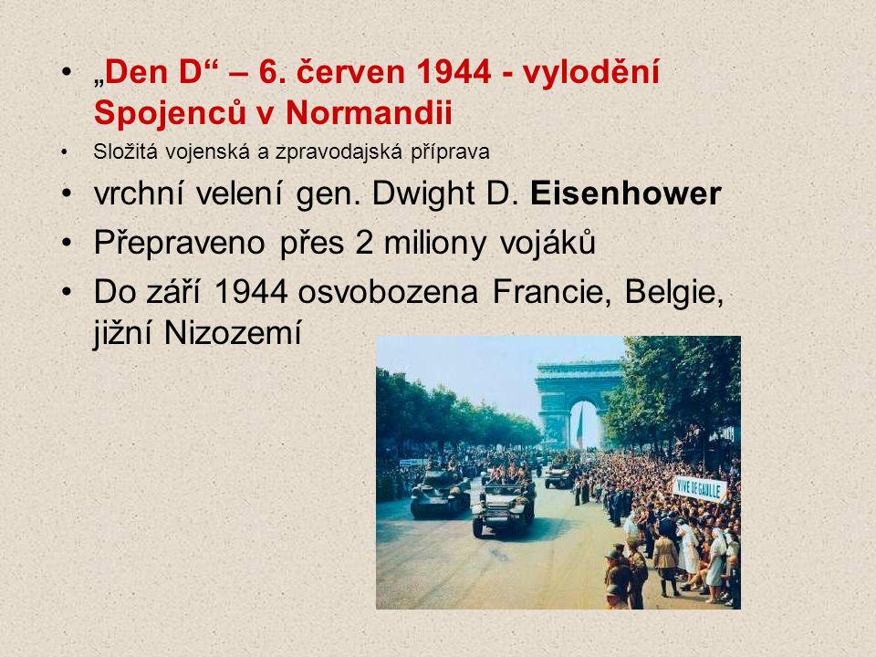 """""""Den D – 6. červen 1944 - vylodění Spojenců v Normandii"""