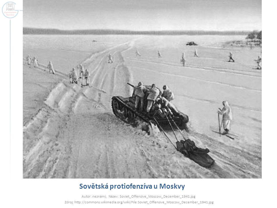 Sovětská protiofenzíva u Moskvy