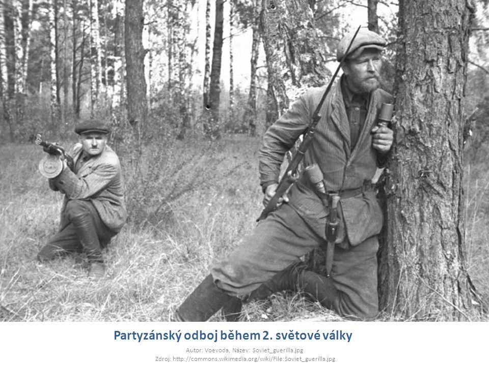 Partyzánský odboj během 2. světové války